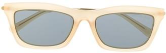 Michael Kors tinted square sunglasses