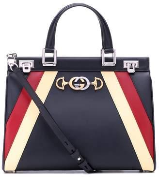 Gucci Zumi Medium leather tote