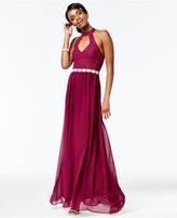 City Studios Juniors' Lace A-Line Gown