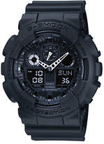 Casio Ga-100-1a1er G-shock Digital Black Rubber Strap Watch