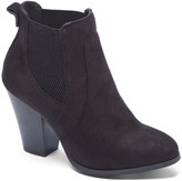 Wild Diva Black Danielle Ankle Boot