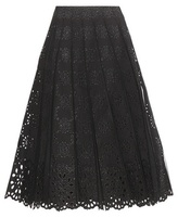 Marc Jacobs Cotton Broderie Anglaise Skirt