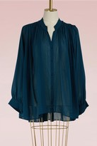 Forte Forte Silk and cotton Bohemian shirt