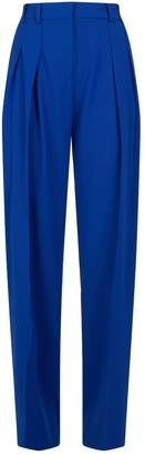 Victoria Victoria Beckham Victoria, Victoria Beckham Pleat-Front Trousers