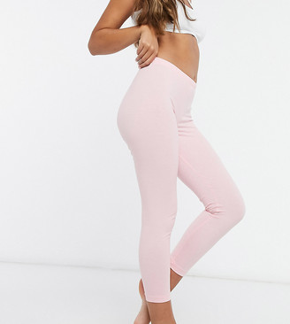 ASOS DESIGN Petite mix & match jersey pyjama legging in pink