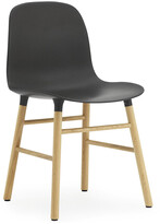 Normann Copenhagen Form Chair - Oak - Black