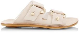 Rag & Bone Avost Leather Slides