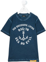 Diesel printed T-shirt - kids - Cotton - 6 yrs
