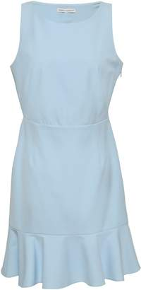 Rebecca Minkoff Cutout Fluted Cady Mini Dress