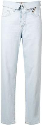 Atelier Jean flip straight-leg jeans