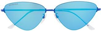 Balenciaga Eyewear Invisible Cat sunglasses