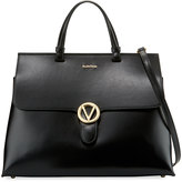 Valentino By Mario Valentino Olimpia Soave Leather Satchel Bag
