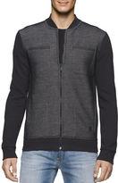 Calvin Klein Jeans Long Sleeve Knit Moto Jacket