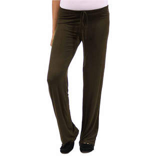 24/7 Comfort Apparel Womens Drawstring Pants - Maternity