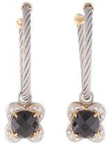 Charriol Onyx & Diamond Earrings