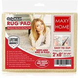 Non Slip Rug Pad || GripMax Premium Anti Slip Rug Pad for under Area Rugs Carpets Runners Doormats on Wood Hardwood Floors 2x4 2x8 3x5 4x6 5x8 6x9 8x12 - || 2x8 ||