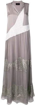 Irina Schrotter embellished flared dress