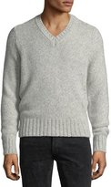 Tom Ford Cashmere-Blend V-Neck Sweater