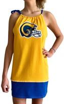 Unbranded Women's Refried Tees Gold Los Angeles Rams Vintage Tank Dress