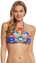 Trina Turk Tapestry High Neck Bikini Top 8157851