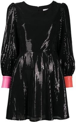 Olivia Rubin Bea heart cut-out detail dress