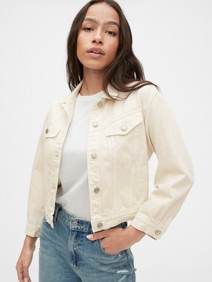 Gap Cropped Icon Denim Jacket