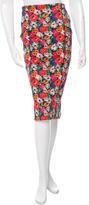 Veronica Beard Floral Printed Pencil Skirt w/ Tags