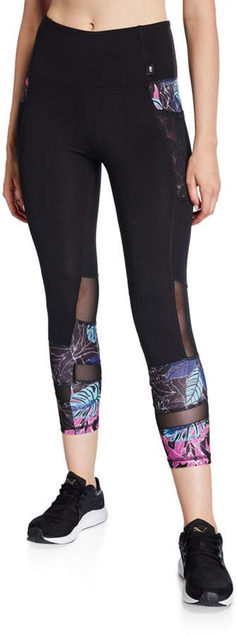 fd2fb3db3c438 Tropical Print Leggings - ShopStyle