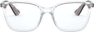 Ray-Ban RX7066 Square Eyeglass Frames Non Polarized Prescription Eyewear