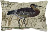 B. Smith The Vintage House by Park Marsh Bird Tapestry Oblong Throw Pillow