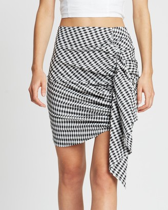 Atmos & Here Petal Ruffle Detail Skirt