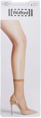 Wolford Tina Summer Nylon Net Socks