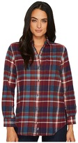 Woolrich Oxbow Bend Eco Rich Boyfriend Shirt Women's Long Sleeve Button Up