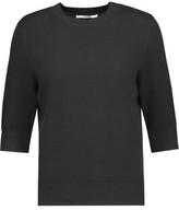 J Brand Ivar Waffle-Knit Cotton-Blend Sweater