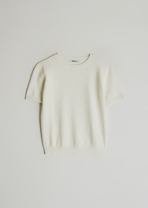 NEED Women's Katy Top in Ivory, Size XS/Small | Wool