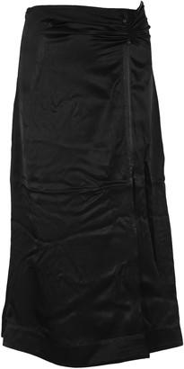 Ganni Pinned Maxi Skirt