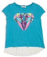 Design History Toddler's & Little Girl's Layered T-Shirt