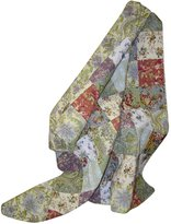 Greenland Home Blooming Prairie Quilted Patchwork Throw-Multi