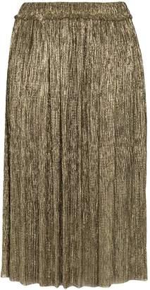 Etoile Isabel Marant Beatrice lamé plissé skirt