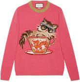 Gucci Ignasi Monreal wool knit sweater