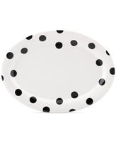 "Kate Spade all in good taste Deco Dot 14"" Platter"