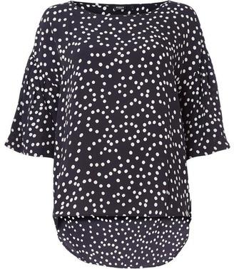 Emme Ladino short bell sleeved top