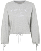 George Madison Avenue Cropped Sweatshirt