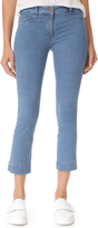 Veronica Beard Gia Pocket Denim Jeans