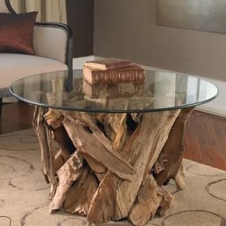 Union Rustic Cindi Driftwood Coffee Table Union Rustic