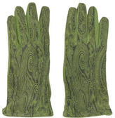 Etro Printed Suede Gloves