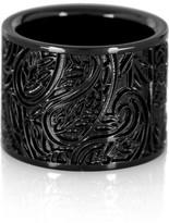 Paisley brass ring