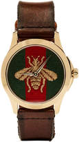 Gucci Gold Medium G-Timeless Bee Watch