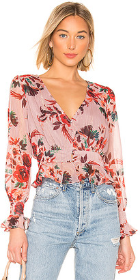Lovers + Friends Nate Blouse