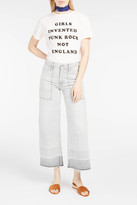 Citizens of Humanity Melanie Cropped Wide-Leg Jeans